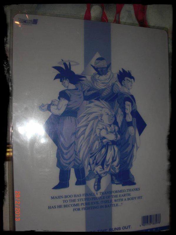 Dragon Ball Z, Carte plastique