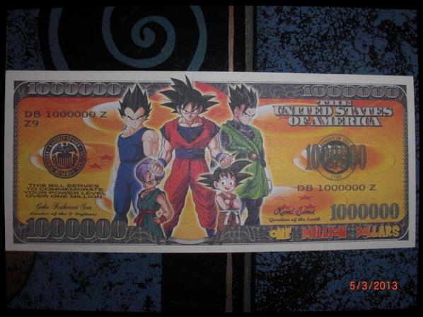 DBZ, 1 Million de Dollars