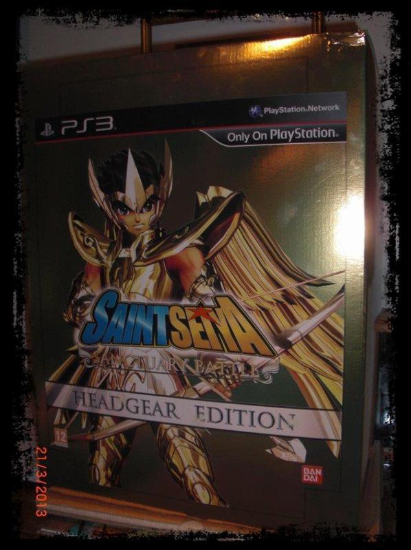 Saint Seiya, jeux PS3