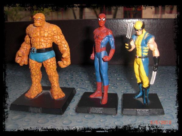 Marvel, en Plomb, environ 200 pièces, ne peux pas exposer