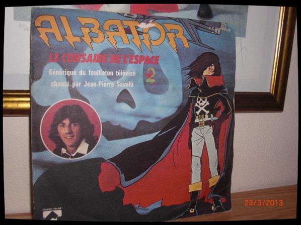 45T, ALBATOR, Le corsaire de l'espace, 1979, chanté par Jean-Pierre Savalli