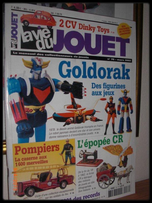 La vie du jouet avec Goldorak N°74, année 2002