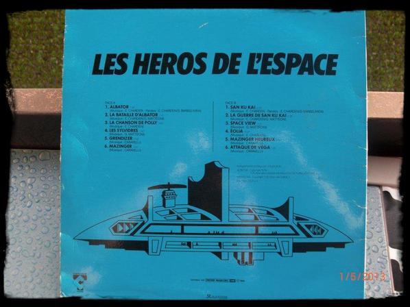 33T, Les Héros de L'éspace, Goldorak, Albator, San Ku Kai