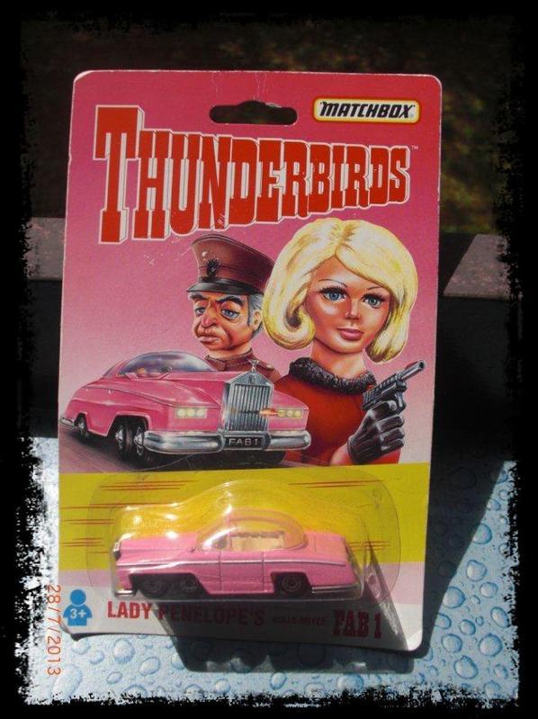 Thunderbirds, Fab 1, Rolls Royce 1/64, des feuilletons de 1964 à 66