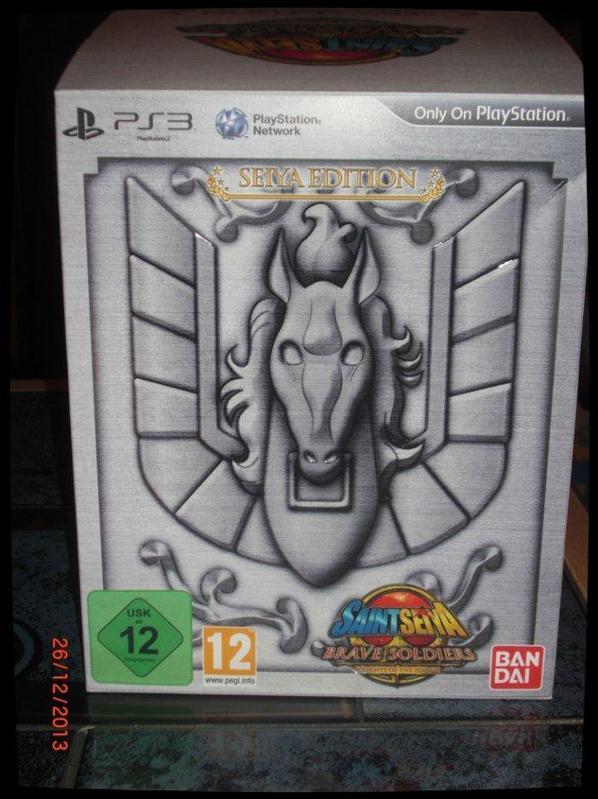 Coffret Jeux PS3 - Saint Seiya, Brave Soldiers + figurine