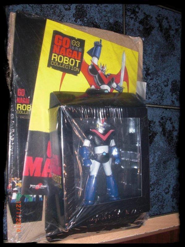 Great Mazinger - Go Nagai - Livet avec figurine, No 3