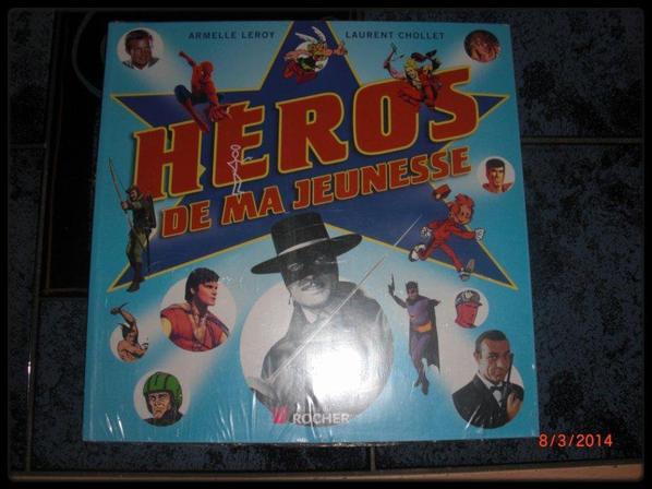 Livre - Héros de ma jeunesse