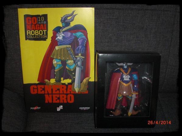 Generale Nero - Go Nagai - Livet avec figurine, No 10
