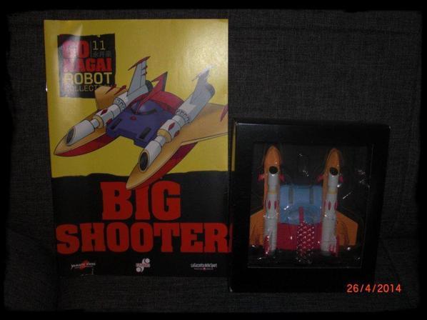 Big Shooter - Go Nagai - Livet avec figurine, No 11