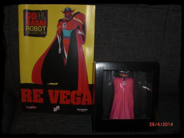 Re Vega - Go Nagai - Livet avec figurine, No 12