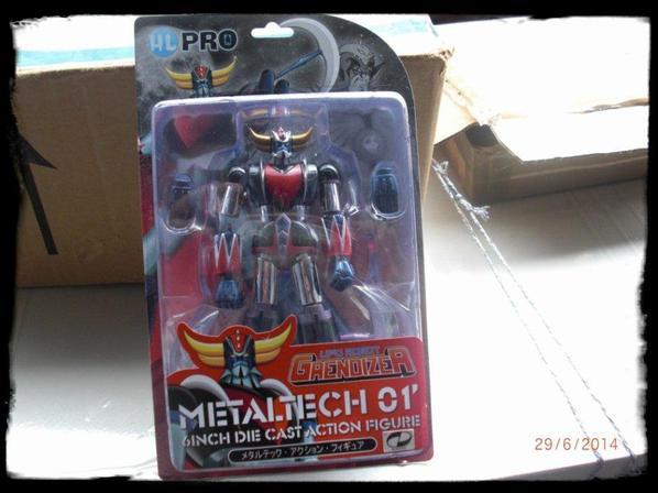Métaltech 01 Grendizer Chrome / Reçu a double