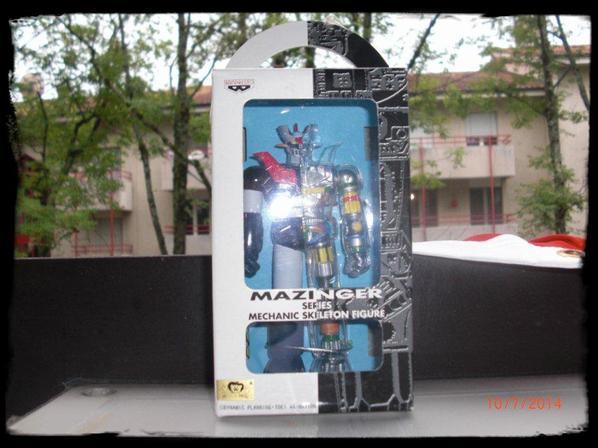 Mazinger Z - Series Mechanic Skeleton Figues
