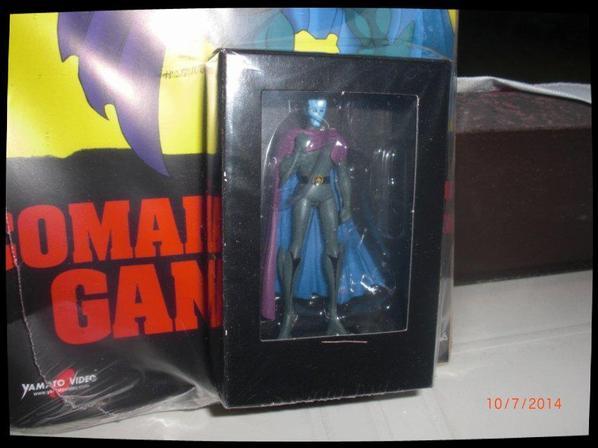 Comandante Gandal (Minos/Minas) - Goldorak - Go Nagai - Livet avec figurine, No 24