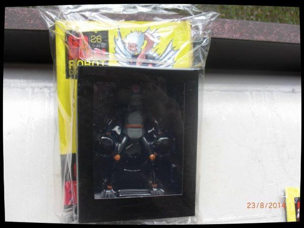 Generale Angoras - Mazinger - Go Nagai - Livet avec figurine, No 26