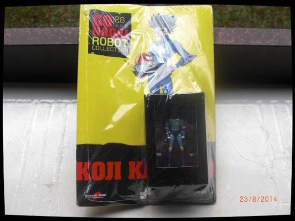 Koji Kabuto Alcor - Goldorak - Go Nagai - Livet avec figurine, No 28
