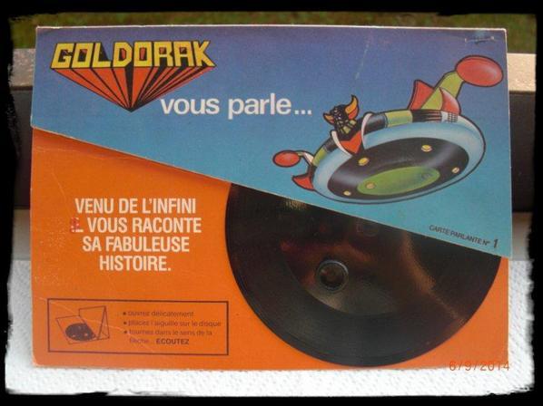Goldorak, carte parlante n°1