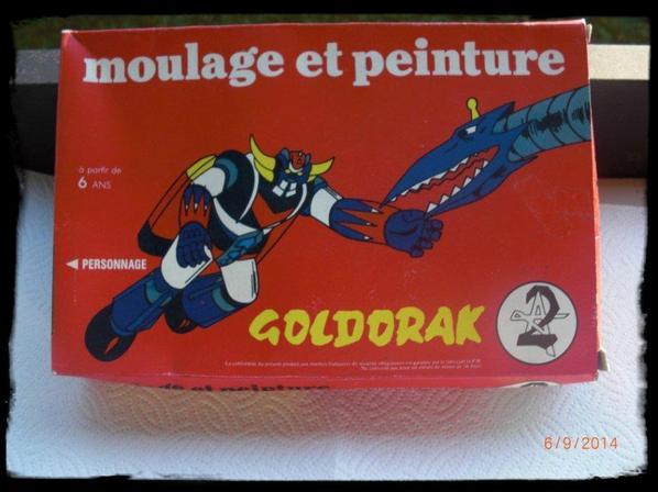 Goldorak - Moulage et peinture