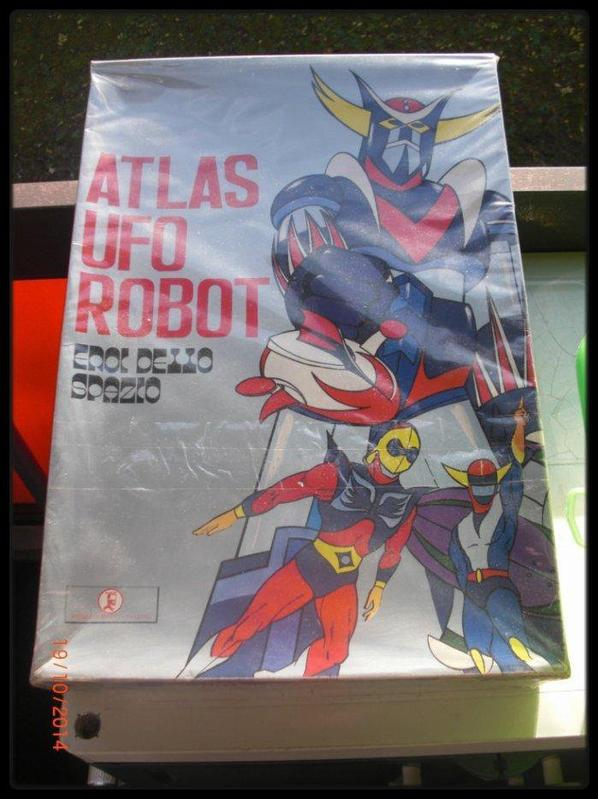 Costume Goldorak. Atlas Ufo Robot