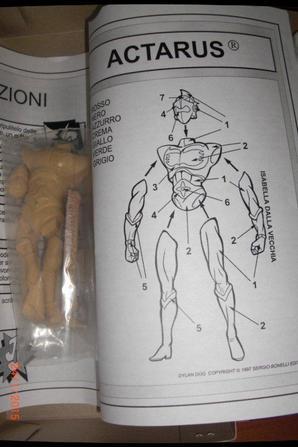 Figurine Actarus (Goldorak)