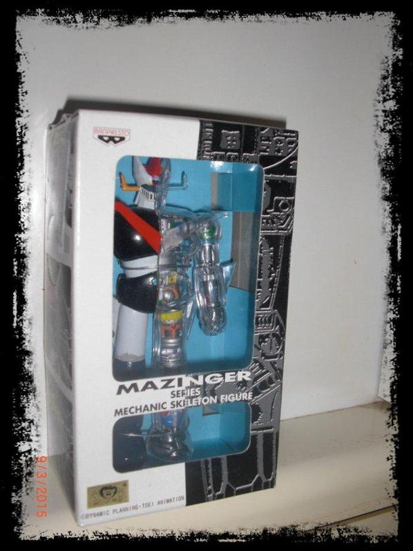 Great Mazinger - Series Mechanic Skeleton Figues