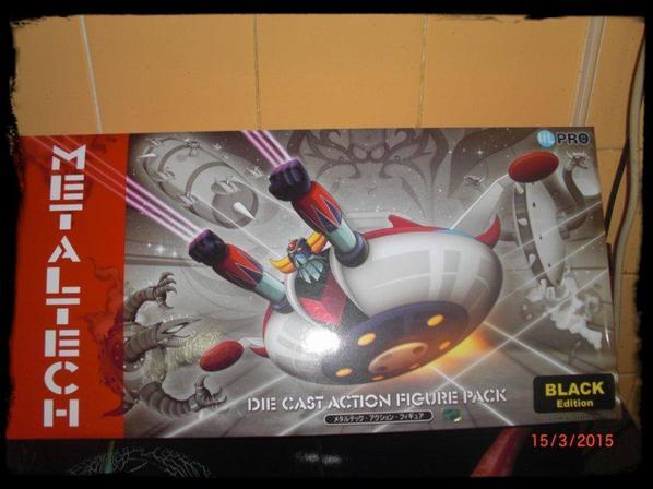 Metaltech 01 - Black Edition DX - Goldorak