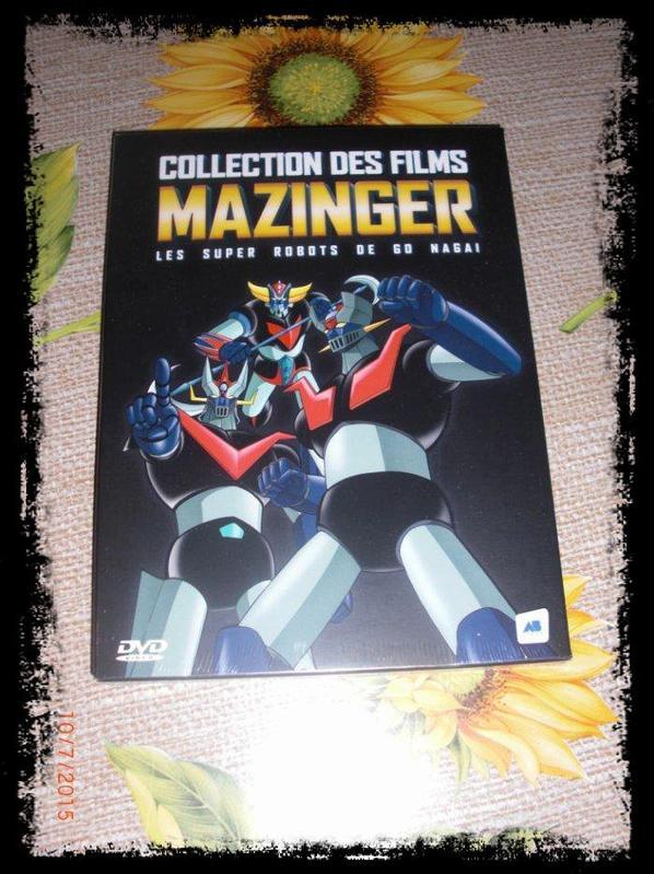 DVD, Mazinger