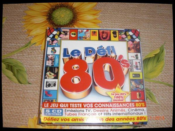 CD, Le défi 80's