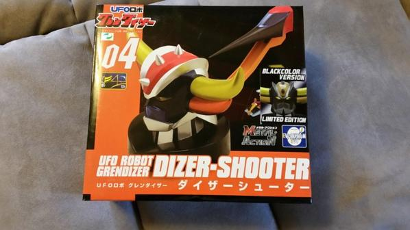UFO Grendizer Dizer-Shooter (Version Black)
