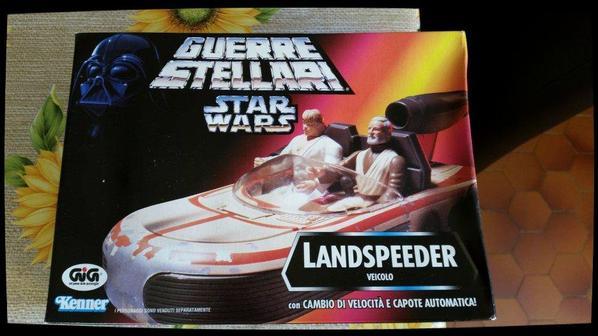 Star Wars, la guerre des étoiles - Landspeeder