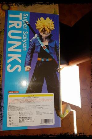 Figurine, Super Saiyan Trunks