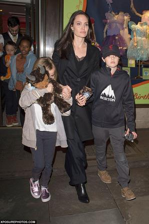 Angelina Jolie & Ses Enfants