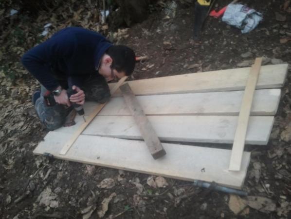 construction de la porte