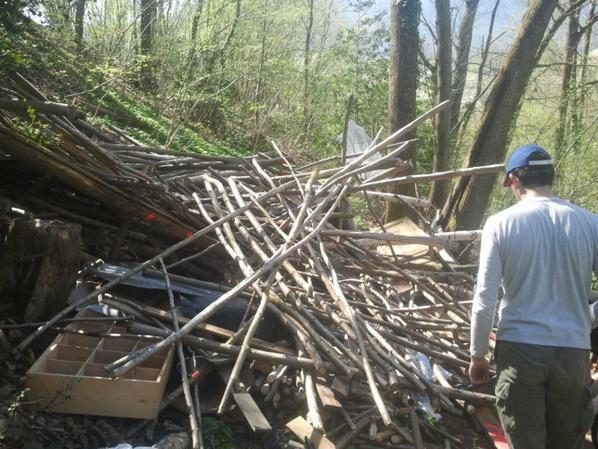 destruction cabane 4