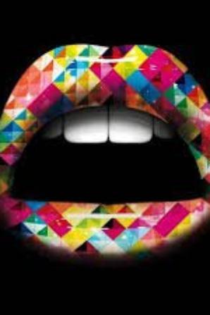 Lèvres coloré différente