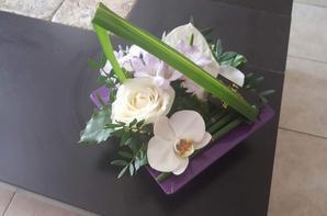 ORCHIDEES POUR UN ANNIVERSAIRE