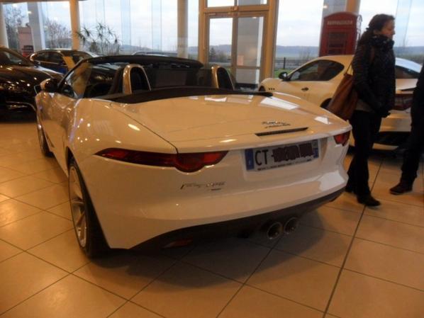 jaguar f-type cabriolet 2013