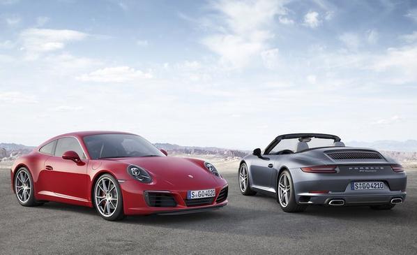 Porsche 911 2016 1/43