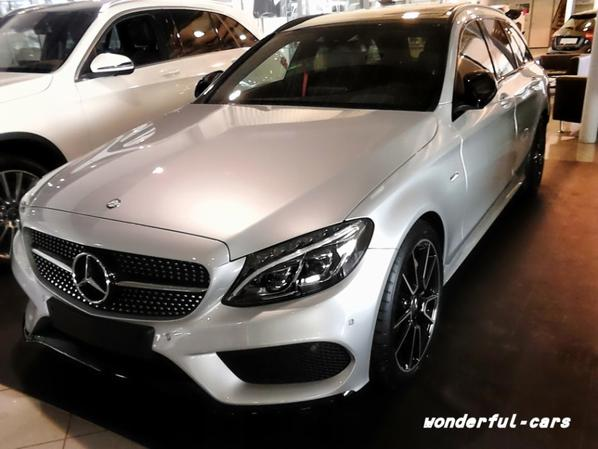 Mercedes c 450 amg break 2015