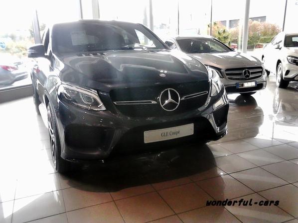 Mercedes gle coupé 2015