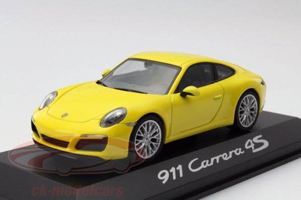 Porsche 911 carrera 4s 2015 1/43 Herpa