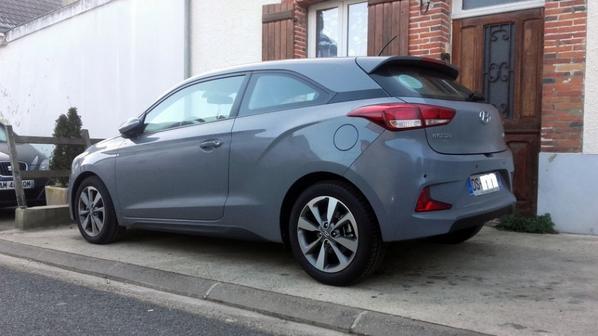 Hyundai i20 coupé 2015