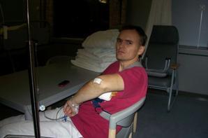 Moi à l'hosto 2006