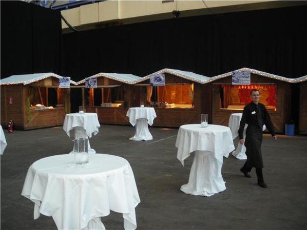 Moi en banquet, traiteur Paulus 2009