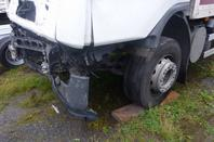 Ce qui reste de mon camion de mon accident du 17.09.2010