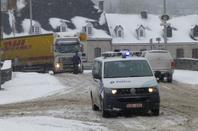 Rochefort, neige 12 mars 2013