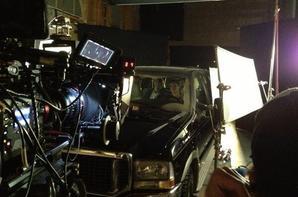 Encore des images du tournage...