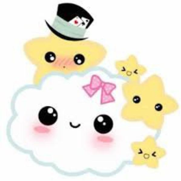 des petit nuages kawaii ?