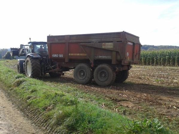 ensilage class jaguar 840 + new holland t6 + massey