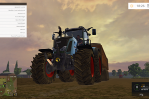 quelque photo de ma partie sur farming simulator 2015