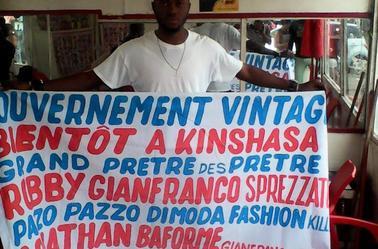 FAN CLUB KINSHASA ROBBY GIANFRANCO PAZZO PAZZO DI LA MODA
